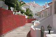 Valuable Prints - Apartments San Blas Tenerife Print by Aleck Rich Seddon