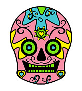 Sugar Skulls Digital Art - Aphrodite on Mescaline by Sugar Skull