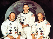 Apollo 11 Crew, Neil Armstrong, Michael Print by Everett