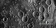 Moon Craters Art - Apollo 13 Landing Site by NASA / Science Source