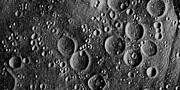 Moon Craters Art - Apollo 13 Planned Landing Site On Moon by Nasa