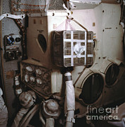 Carbon Dioxide Metal Prints - Apollo 13s Mailbox Metal Print by Nasa