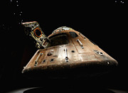Space Digital Art - Apollo 14 by Glennis Siverson