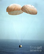 Featured Art - Apollo 9 Water Landing by NASA / Science Source