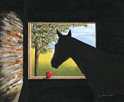 Stable Painting Originals - Apollo by Andrew Wells