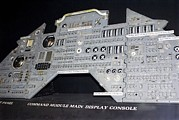 Nasm Prints - Apollo Control Panel Print by Mark Williamson