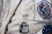 Astronauts Art - Apollo Lunar Suit by Christi Kraft