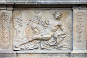 Mythological Photo Prints - Apollo Relief in Gdansk Print by Artur Bogacki