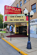 Small Town America Framed Prints - Apollo Theatre, Princeton, Illinois, Usa Framed Print by Bruce Leighty