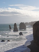 12 Apostles Framed Prints - Apostles 12 Framed Print by David Peters