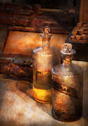 Potions Framed Prints - Apothecary - Special Medicine  Framed Print by Mike Savad