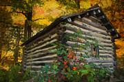 Christine Annas Art - Appalachian Dream Home by Christine Annas