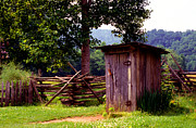 Outhouse Prints - Appalachian Hill-ton Print by Paul W Faust -  Impressions of Light