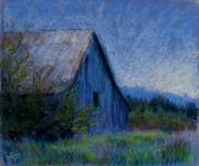 Landscapes Pastels Prints - Appalachian Morning Print by Susan Jenkins