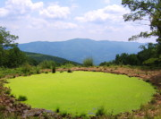 Panorama Mountain Images Prints - Appalachian Vista Print by Joshua Bales