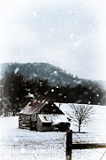 Snowy Evening Posters - Appalachian Winter Poster by Stephanie Frey