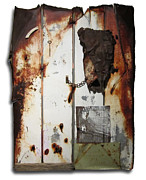Rusty Sculpture Prints - Appaloosa Print by Snake Jagger