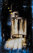 Industrial Paintings - Apparition by Bob Orsillo