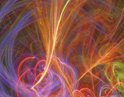 Fractal Geometry Digital Art Originals - Applause by William Wright