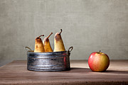 Country Cottage Photos - Apple and Pears 01 by Nailia Schwarz