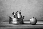 Country Cottage Photos - Apple and Pears 02 by Nailia Schwarz