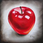 Apple Painting Originals - Apple by Ilse Kleyn