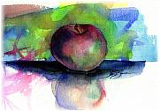 John Benson Paintings - Apple by John D Benson