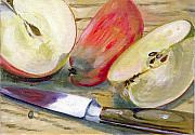 Apple Painting Originals - Apple by Sarah Lynch