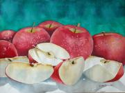 Sliced Originals - Apple Slices by Michael Prout