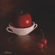Colleen Brown - Apple with Cherries
