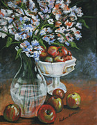 Pauline  Kretler - Apples and Flowers