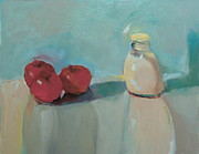 Nancy Blum - Apples and Milk Pitcher