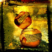 Internal Metal Prints - Apples Metal Print by Bernard Jaubert