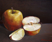 Scottish Art Originals - Apples by Peter Allan