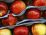 Fruit Store Framed Prints - Apples Framed Print by Robert Ullmann
