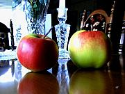 Reflection Harvest Metal Prints - Apples Still Life Metal Print by Will Borden