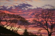 Appleton Pastels - Appleton Minnesota Sunset by Regina Calton Burchett