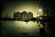 Downtown Appleton Photo Prints - Appleton Waterfront Print by Joel Witmeyer