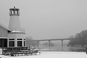 Appleton Art Metal Prints - Appleton Yacht Club Metal Print by Joel Witmeyer