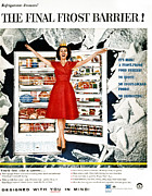 Domestic Interior Posters - Appliance Advertisement Poster by Granger