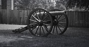 Mortar Art - Appomattox Cannon by Teresa Mucha