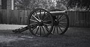 Appomattox Cannon Print by Teresa Mucha