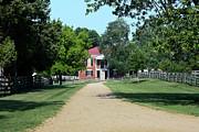 Appomattox County Court House 2 Print by Teresa Mucha