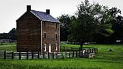 Appomattox County Jail Print by Teresa Mucha