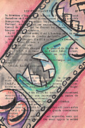 Page Mixed Media - Appris by Jera Sky