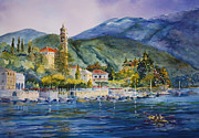 Approaching Bellagio Print by Betsy Aguirre