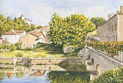 Frances Evans - Approaching Montbron