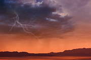 Raining Prints - Approaching Rain Storm Print by Utah Images