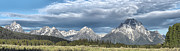 Western Photographs Prints - Approaching Storm in the Tetons Print by Sandra Bronstein
