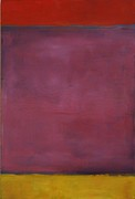 Rothko Painting Originals - Approaching Storm by Mel Andrews
